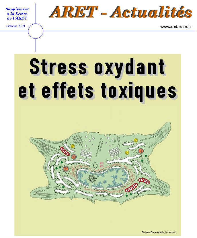 Stress oxydant et effets toxiques