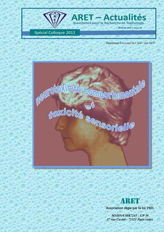 Neurotoxicité comportementale et Toxicité sensorielle
